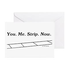 Strip Greeting Cards (Pk of 10)
