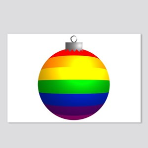 Rainbow Ornament Postcards (Package of 8)