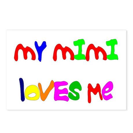 My Mimi Loves Me! (Croobie) Postcards (Package of