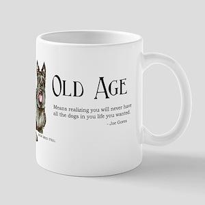 Scottish Terrier Old Age Mug