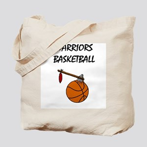 Warriors Basketball - High Sc Tote Bag