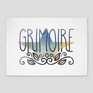 Grimoire 5'x7'Area Rug