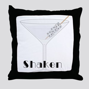 Shaken Throw Pillow