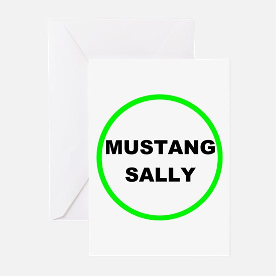 Unique Mustang humor Greeting Cards (Pk of 10)