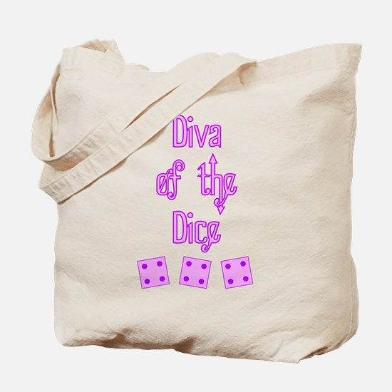 Diva of the Dice Tote Bag