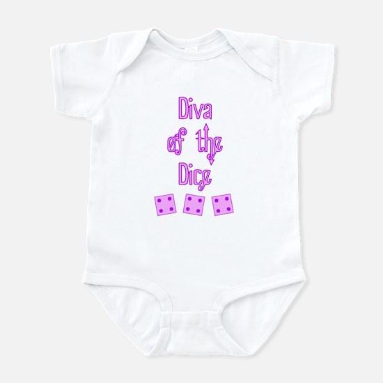 Diva of the Dice Infant Bodysuit