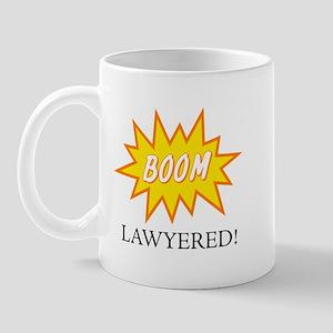 Boom Lawyered! Mug