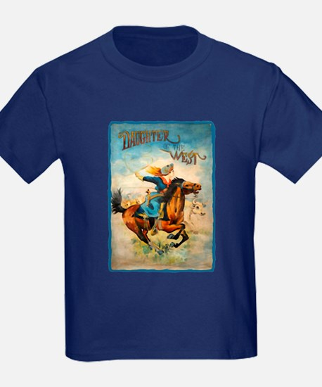 Vintage Cowgirl Roping T