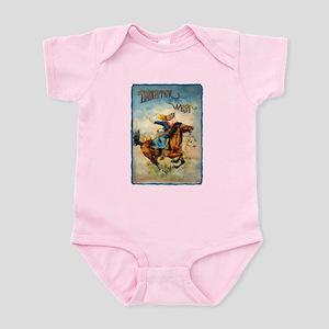 Vintage Cowgirl Roping Infant Bodysuit