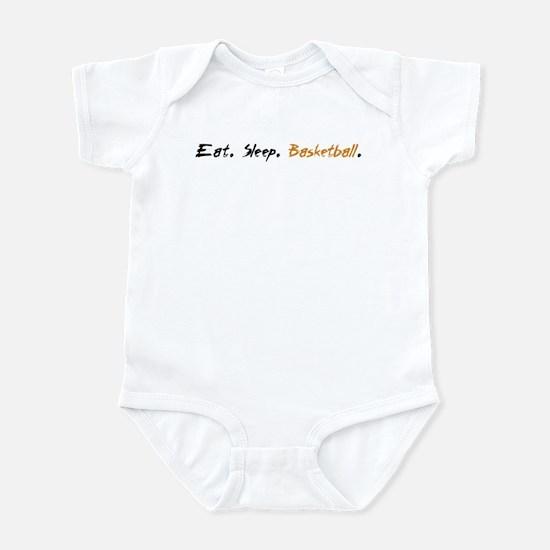 NEW Eat Sleep Basketball Infant Bodysuit