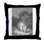Canto 2 - Beatrice & Virgil Throw Pillow