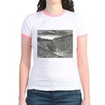 Canto 3 - Hells Entrance Jr. Ringer T-Shirt