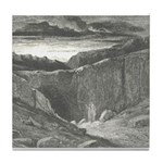 Canto 3 - Hells Entrance Tile Coaster