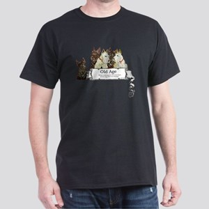 Old Age Scottish Terriers Dark T-Shirt