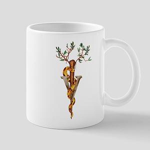 Veterinary Caduceus Mug