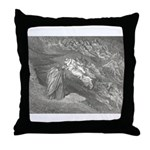Canto 5 Paolo & Francesca Throw Pillow