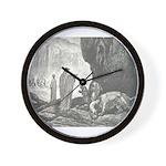 Canto 6 - Mad Dog Wall Clock