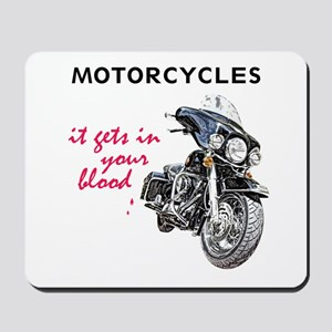 It's In Your Blood Mousepad