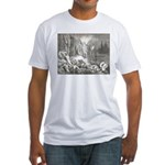 Canto 7 - Messenger Angel Fitted T-Shirt
