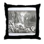 Canto 7 - Messenger Angel Throw Pillow