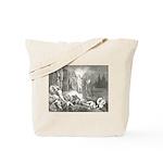 Canto 7 - Messenger Angel Tote Bag