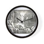 Canto 7 - Messenger Angel Wall Clock