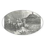 Canto 12 Oval Sticker
