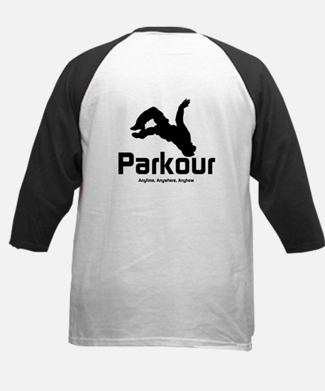 Parkour - The Way, Anytime Kids Baseball Jersey