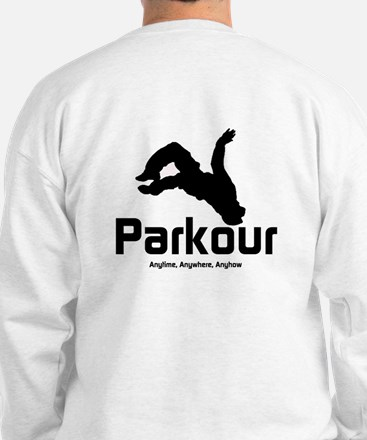 Parkour - The Way, Anytime Sweatshirt