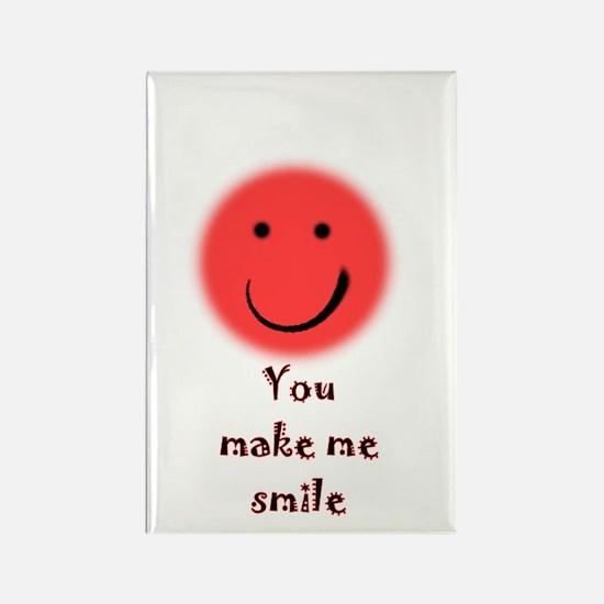 make me smile Rectangle Magnet