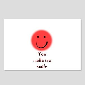 make me smile Postcards (Package of 8)