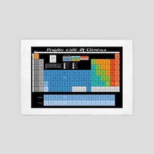 Math Table 4' x 6' Rug
