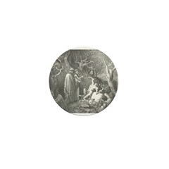 Canto 13 - HumanTrees Mini Button (10 pack)