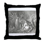 Canto 13 - HumanTrees Throw Pillow