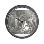 Canto 13 - HumanTrees Wall Clock