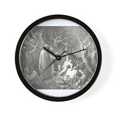 Canto 13 - HumanTrees Wall Clock