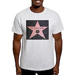 Hollywood Star Ash Grey T-Shirt