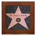 Hollywood Star Framed Tile