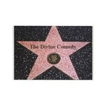 Hollywood Star Rectangle Magnet