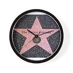 Hollywood Star Wall Clock