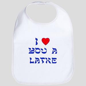 I Love You a Latke Bib