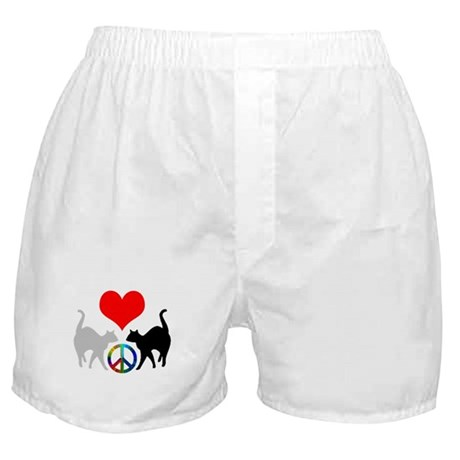 Love & peace Boxer Shorts