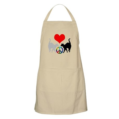 Love & peace BBQ Apron