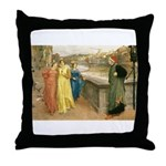 Dante & Beatrice Throw Pillow