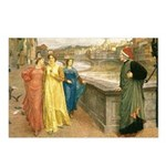 Dante & Beatrice Postcards (Package of 8)