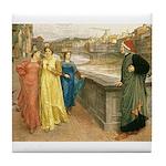 Dante & Beatrice Tile Coaster