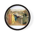 Dante & Beatrice Wall Clock
