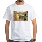 Dante & Beatrice White T-Shirt