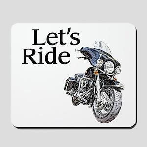 Let's Ride Mousepad