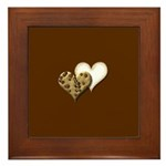 Chocolate Cookie Framed Tile